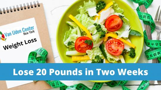 What Are Some Ways to Lose 20 Pounds in Two Weeks?